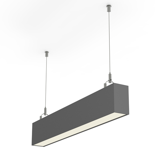 Suspended Led Linear Light Pendant Fixture Haichang