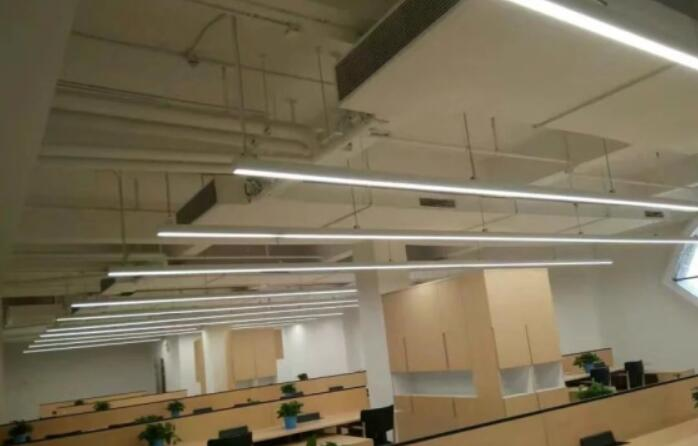 suspended led linear light with aluminum profile pendant linear led