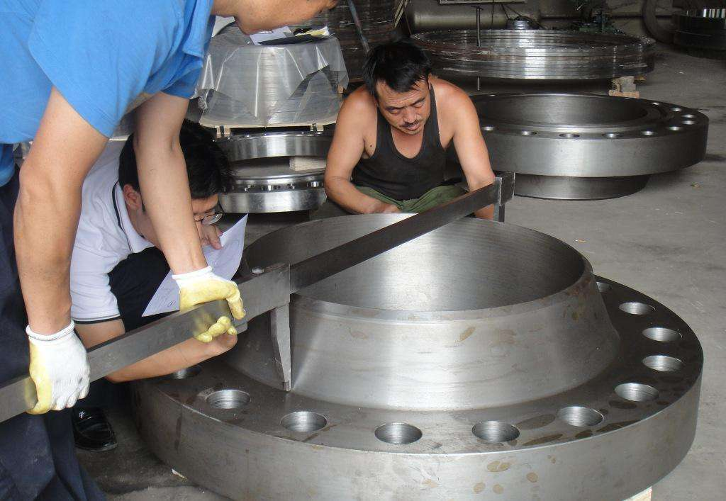 Duwa Order to Italy Flange inspection by 3rd party