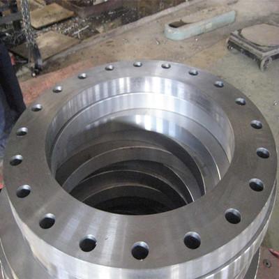 EN1092-1 Plate FLANGE, ASTM A105, 12 INCH, PN6