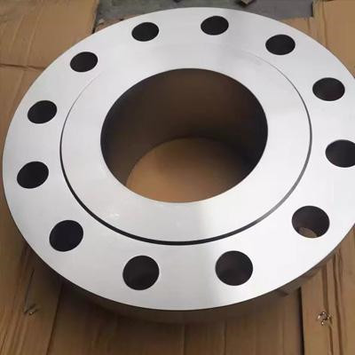 ASME SA182 S32750 Weld Neck Flange, 8 Inch, 150 LB, SCH 80, Raised Face