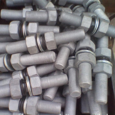 DIN938 zinc plating stub bolt