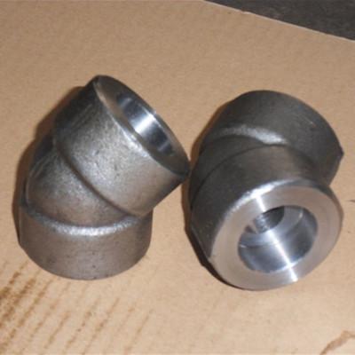 Galvanized 45D Elbow, ANSI B16.11, 2 Inch, 3000LB