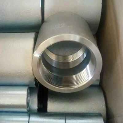 NPT Threaded Straight Coupling, ASTM A105, 3000 LB