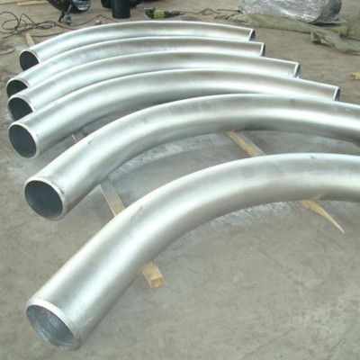 hot Dipped Galvanized Pipe Return, CS, 5 Inch