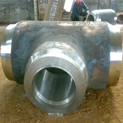 ASTM A234 WP91 Equal Tee, ASME B16.9, 18 Inch, SCH 100