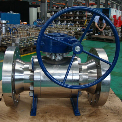 API 6D Ball Valve, ASTM A182 F316, Fire Safe API 607, 8 Inch, Cl900
