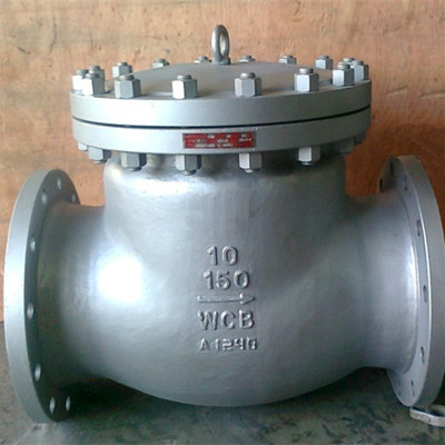 API 598 Alloy Steel Swing Check Valve, 150LB, DN250