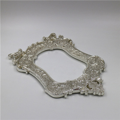 Silver Plating Photo Frame, Aluminum Alloy Die Casting, Customized