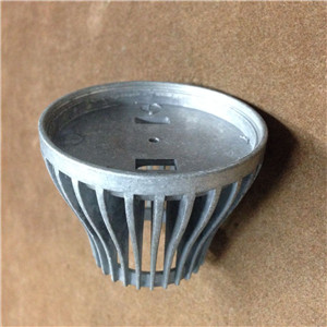 Light Screw Socket Aluminium Alloy Die Casting