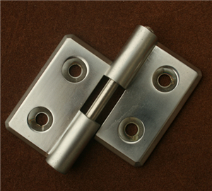 Aluminium Alloy External Hinge for Door, Cabinet, Anodizing