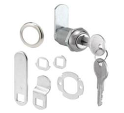 Zinc Alloy Cam Lock Latch, Angel 90, Round, for Cabinet, Locker
