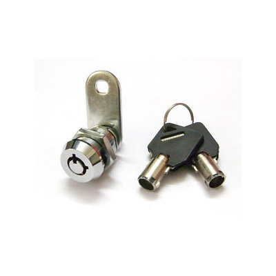Zinc Alloy Tubular Cam Lock, 7 Pins, 90 or 180 Degree, Clockwise