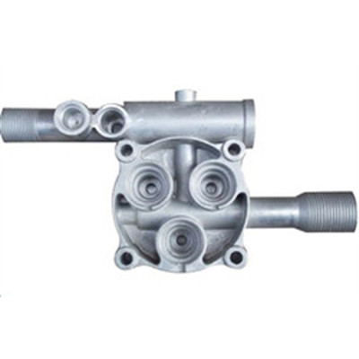 Aluminum Machinery Parts Precision Die Casting, Spray Coating