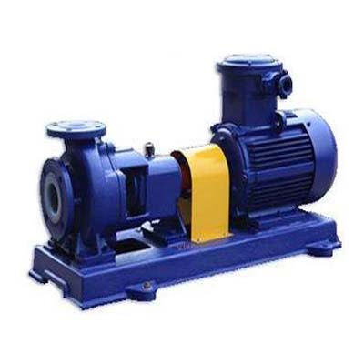 IHF Fluoroplastic Lining Chemical Pump, Flow Rate 15-200 m3/h