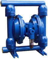 QBY Pneumatic Air operated Diaphragm Pumps, cast iron, aluminum alloy
