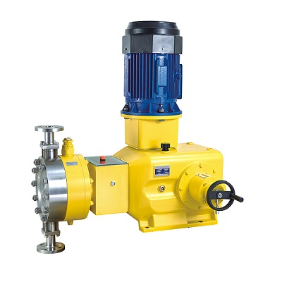 High Pressure Hydraulic Metering Pump, Diaphragm, 12000 lph, 400 Bar