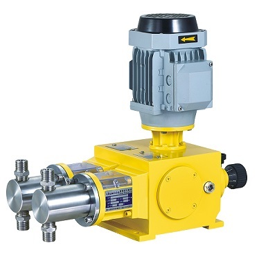 Piston Metering Pump, 5 lph-360 lph, 8 Bar-380 Bar, 0.37 kW