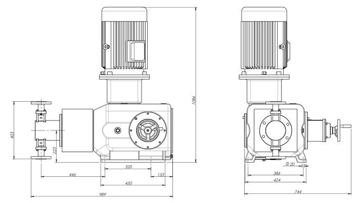 reciprocating-plunger-metering-pump-186-16800-lph-6-500-bar-11kw-drawing