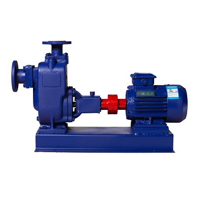 ZW Self-priming Centrifugal Pump, Cast iron, Stainless steel, Cast steel
