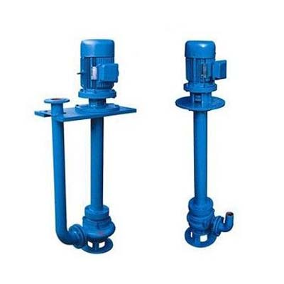 YW Vertical Submerged Pump, Cast iron, Stainless steel
