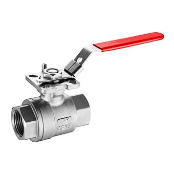 1000 PSI Cast Floating Ball Valve with ISO Direct Mount Pad