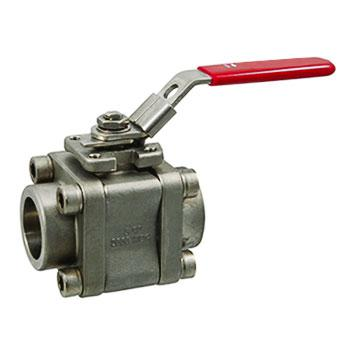 F316 3PCS Stainless Steel Ball Valve Class 800/1500/2500