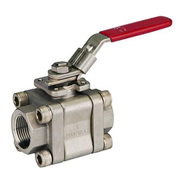 LF2 3PCS Carbon Steel Ball Valve Class 800/1500/2500