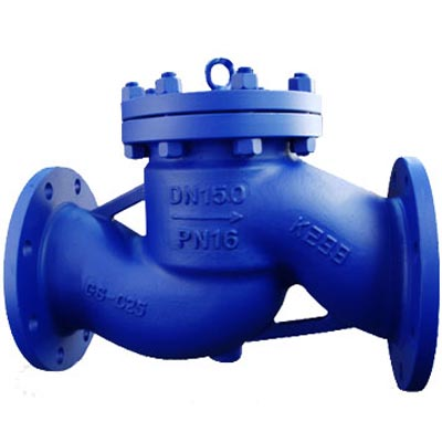 DIN Lift Check Valve, Cast iron, Ductile iron, WCB