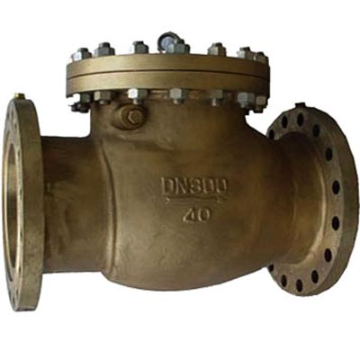 H44N Brass Swing Check Valve for Oxygen