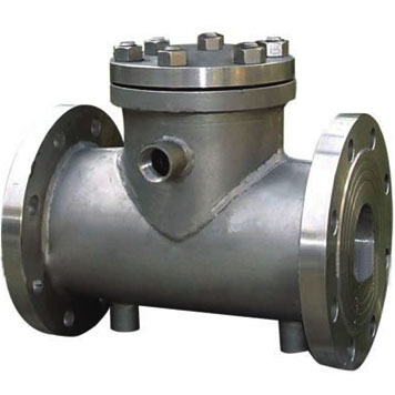 Jacketed Swing Check Valve, 1.6-16 MPa