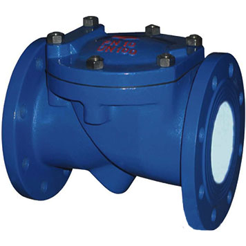 SFCV Rubber Flapper Swing Check Valve, Cast iron, Ductile iron, WCB