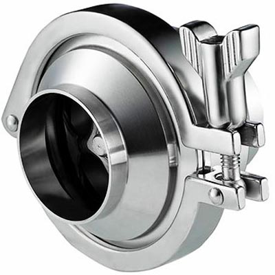 Stainless Steel Sanitary Check Valve, SS 304 / 316 / 304L / 316L