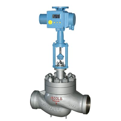 T968Y feed water control valve, WCB, WC6, 20CrMo
