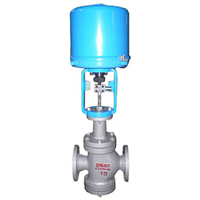 ZDLN Electric Double Seat Control Valve, Carbon Steel, Stainless Steel