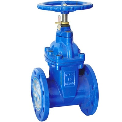 Non Rising Stem Resilient Seated Gate Valves, Cast iron, Ductile iron