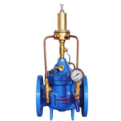 500X Pressure Relief, Pressure Sustaining Valve, Cast iron, Ductile iron, WCB