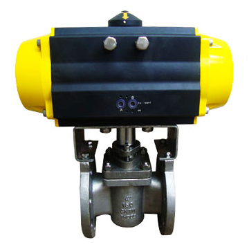 Pneumatic Actuated Sleeved Plug Valve