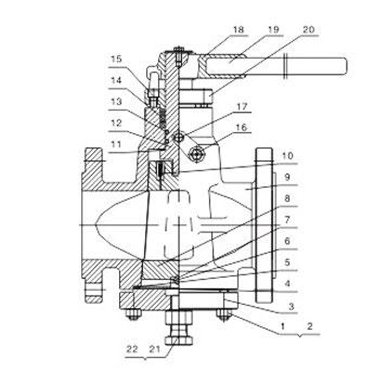 Pressure Balanced Plug Valve, Class 150, 300, 600, 900 LB