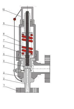 A41H Spring Loaded Safety Valve, 150-900LB, PN16-PN320
