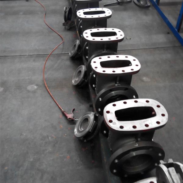 Gate valve castings
