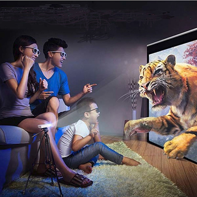 Smart LED Projector for Home