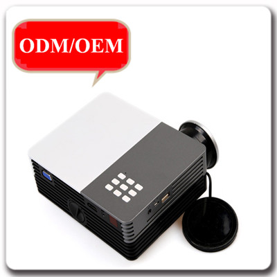 High Light Digital OEM Mini HD HDMI/USB/SD/VGA/AV Input Projector