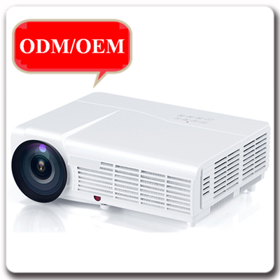 OEM ODM 2000 Lumens 3D Movie Home Office Portable Projector