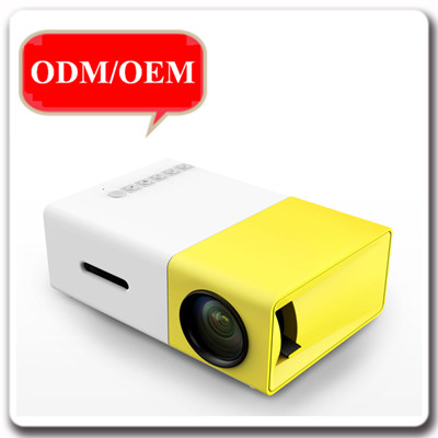 Portable Mini 320x240 Full HD LI-300 LCD Projector