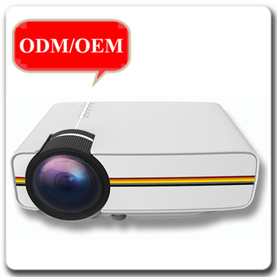 Portable Multimedia LED Home Theater Projector