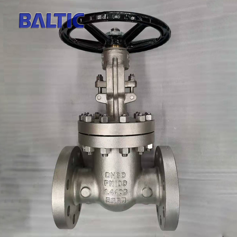 Stainless Steel Gate Valve, ASTM A351 CF8M