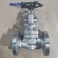 DIN Small Size Globe Valves in Forging Materials