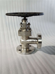 Baltic Delivered the Angle Type Globe Valve