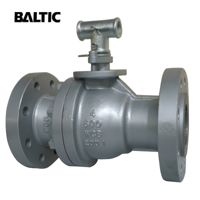 2-PC Side Entry Floating Ball Valve, A216 WCB, 4INh, CL600, RF
